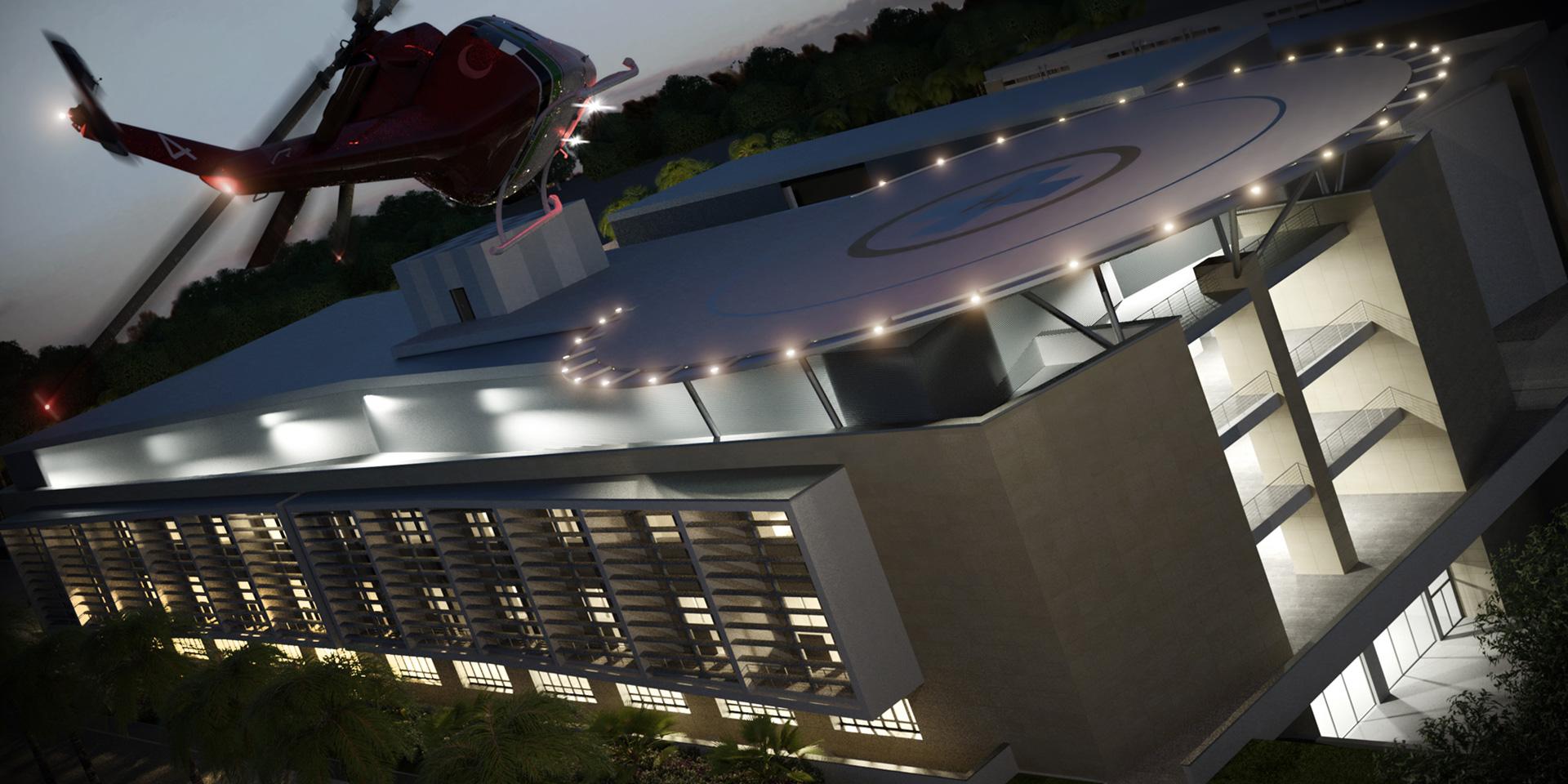 Ospedale Universitario di Al Zawia, Libia, Binini Partners, Società di architettura e ingegneria