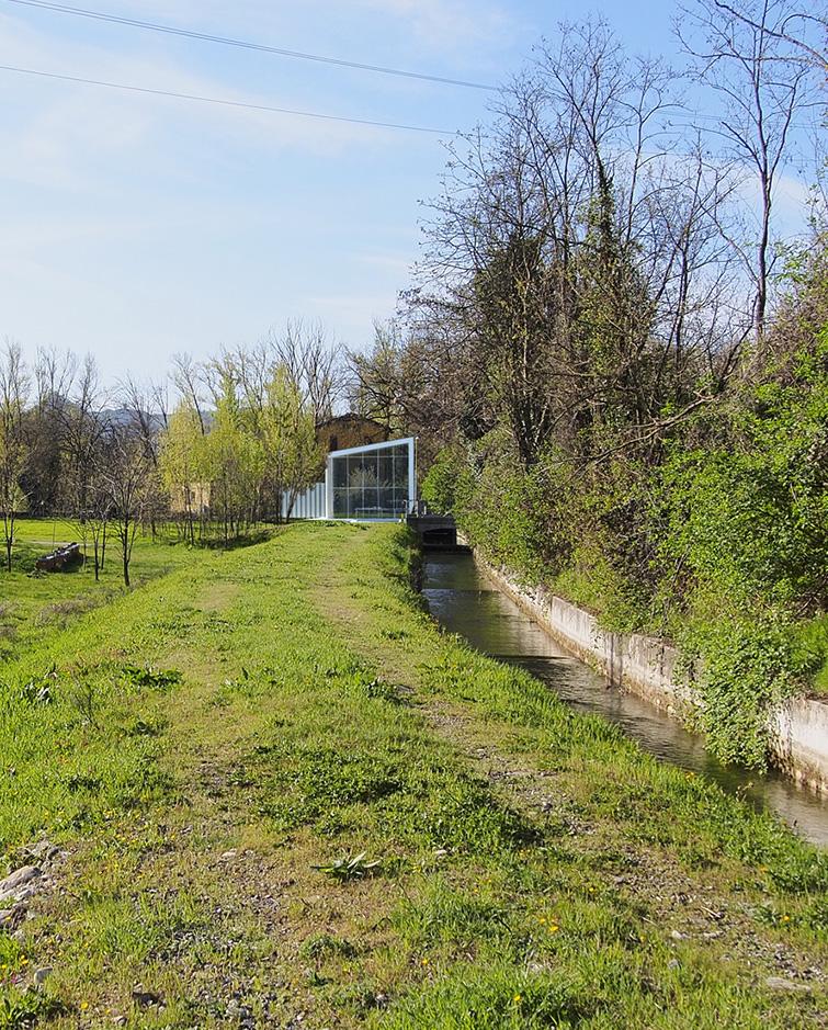 Impianto idroelettrico a Guardasone, Binini Partners, Società di architettura e ingegneria