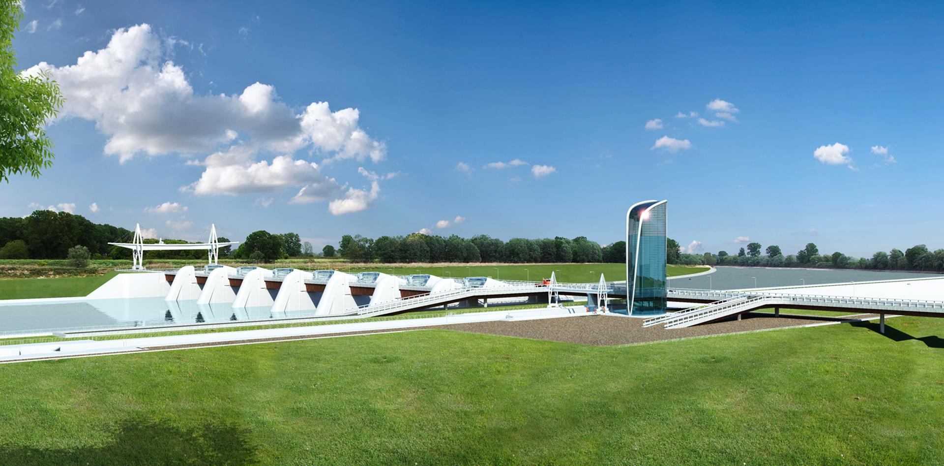 Sistema idroviario del Po, Binini Partners, Società di architettura e ingegneria