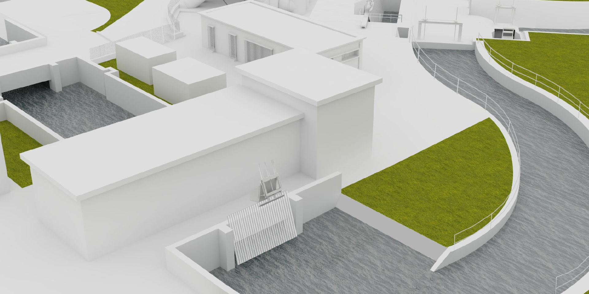Impianto idrovoro di Tagliata, Binini Partners, Società di architettura e ingegneria
