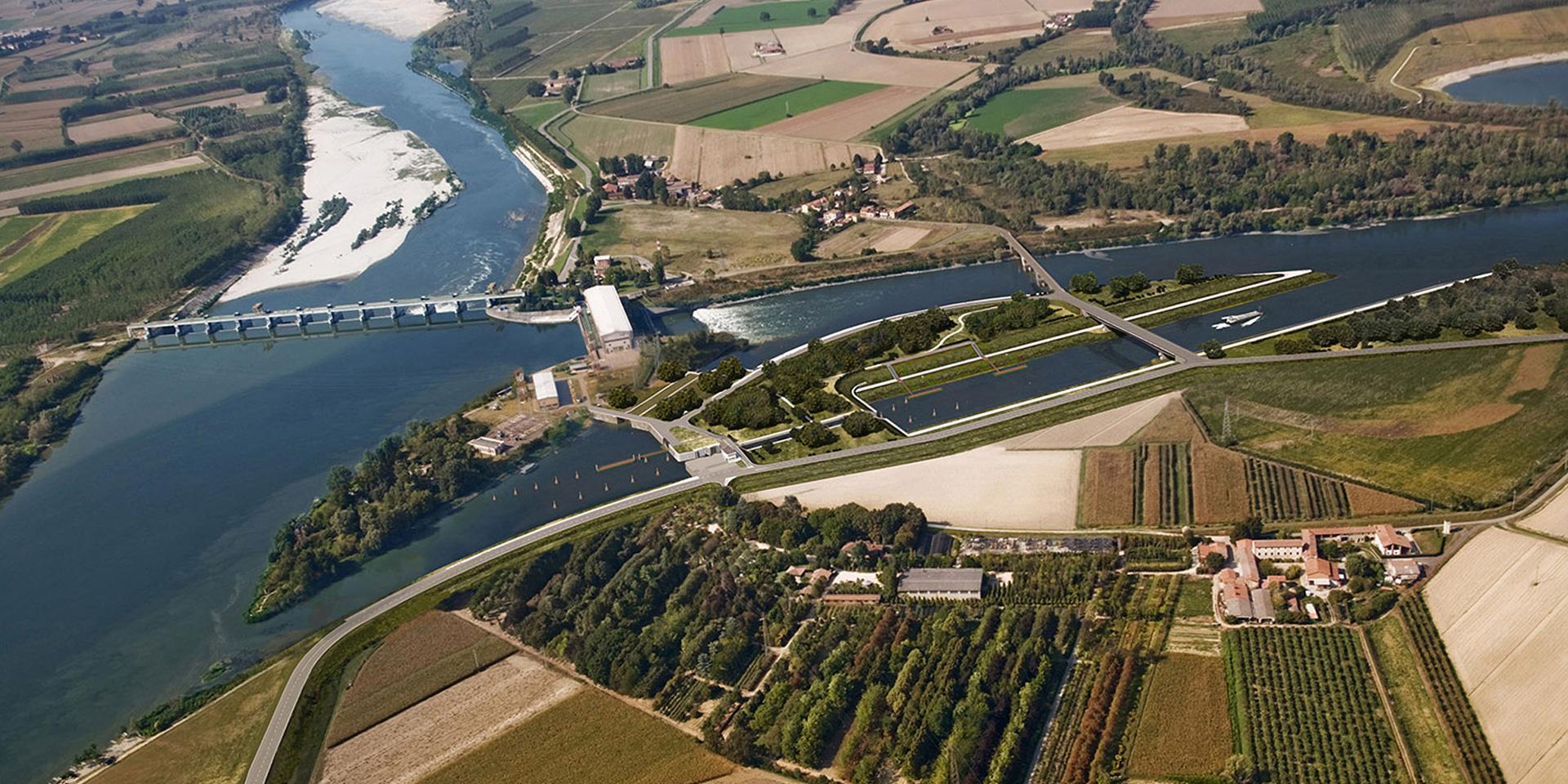 Conca di navigazione a Isola Serafini, Binini Partners, Società di architettura e ingegneria