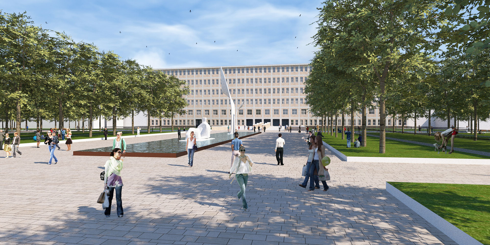 Masterplan Arcispedale Santa Maria Nuova Reggio Emilia, Binini Partners, Società di architettura e ingegneria