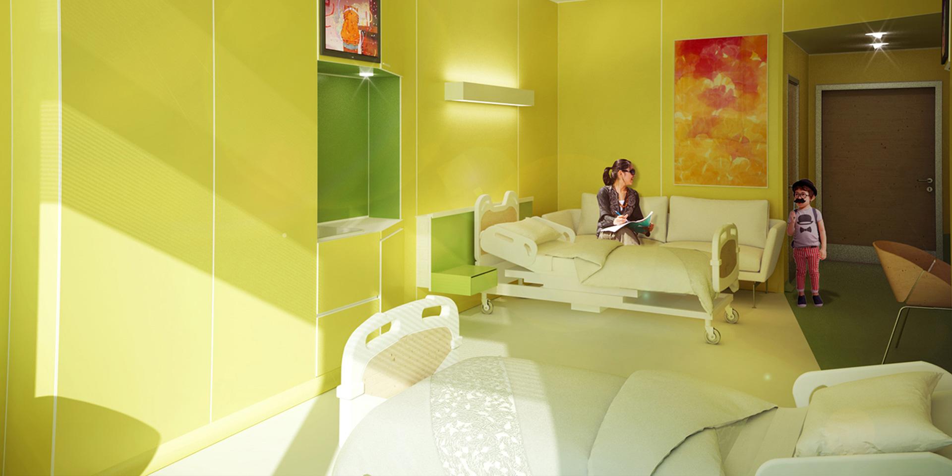 MIRE, Maternità Infanzia Reggio Emilia, Binini Partners, Società di architettura e ingegneria