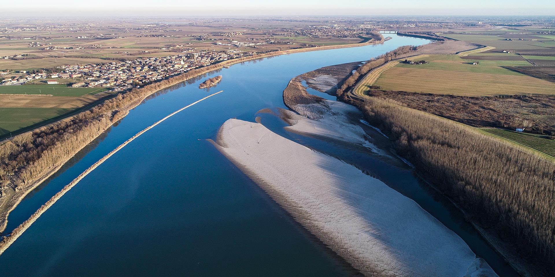 Progetto fiume Po Revere-Ferrara, Binini Partners, Società di architettura e ingegneria