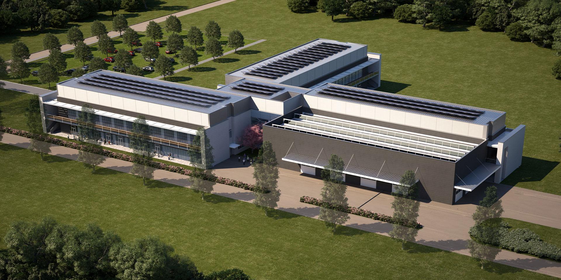 Nuovo Tecnopolo Regionale presso l'Università di Parma, Binini Partners, Società di architettura e ingegneria