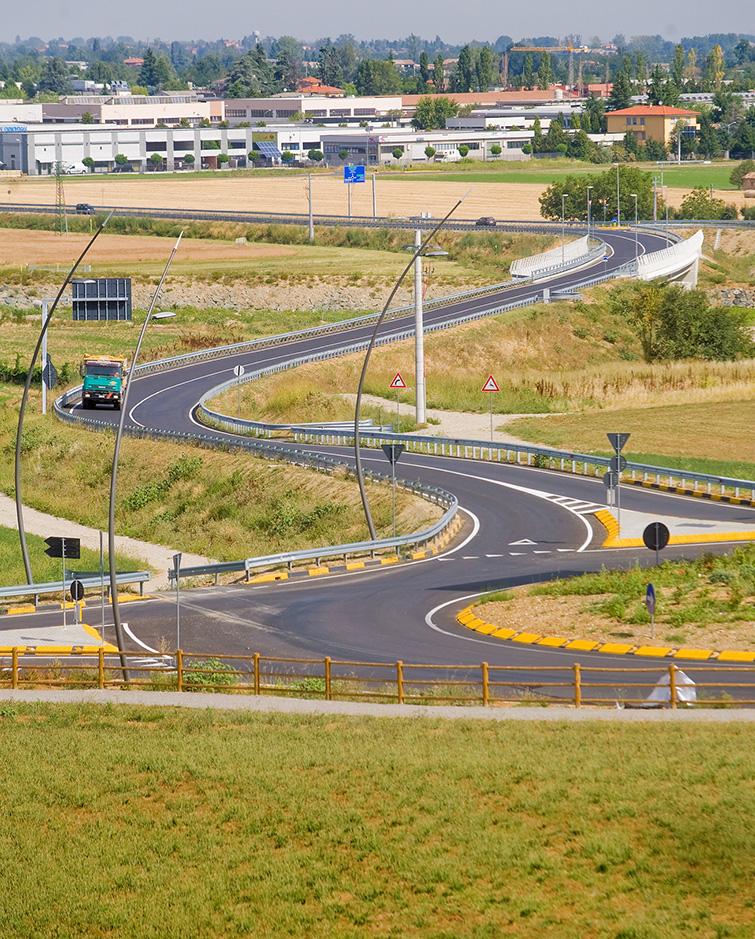 Variante stradale di Traversetolo, Binini Partners, Società di architettura e ingegneria