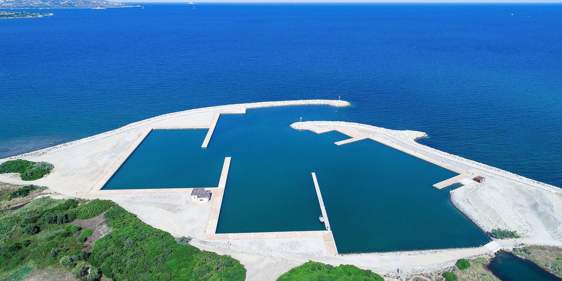 Porto di San Teodoro in Sardegna, Binini Partners, Società di architettura e ingegneria
