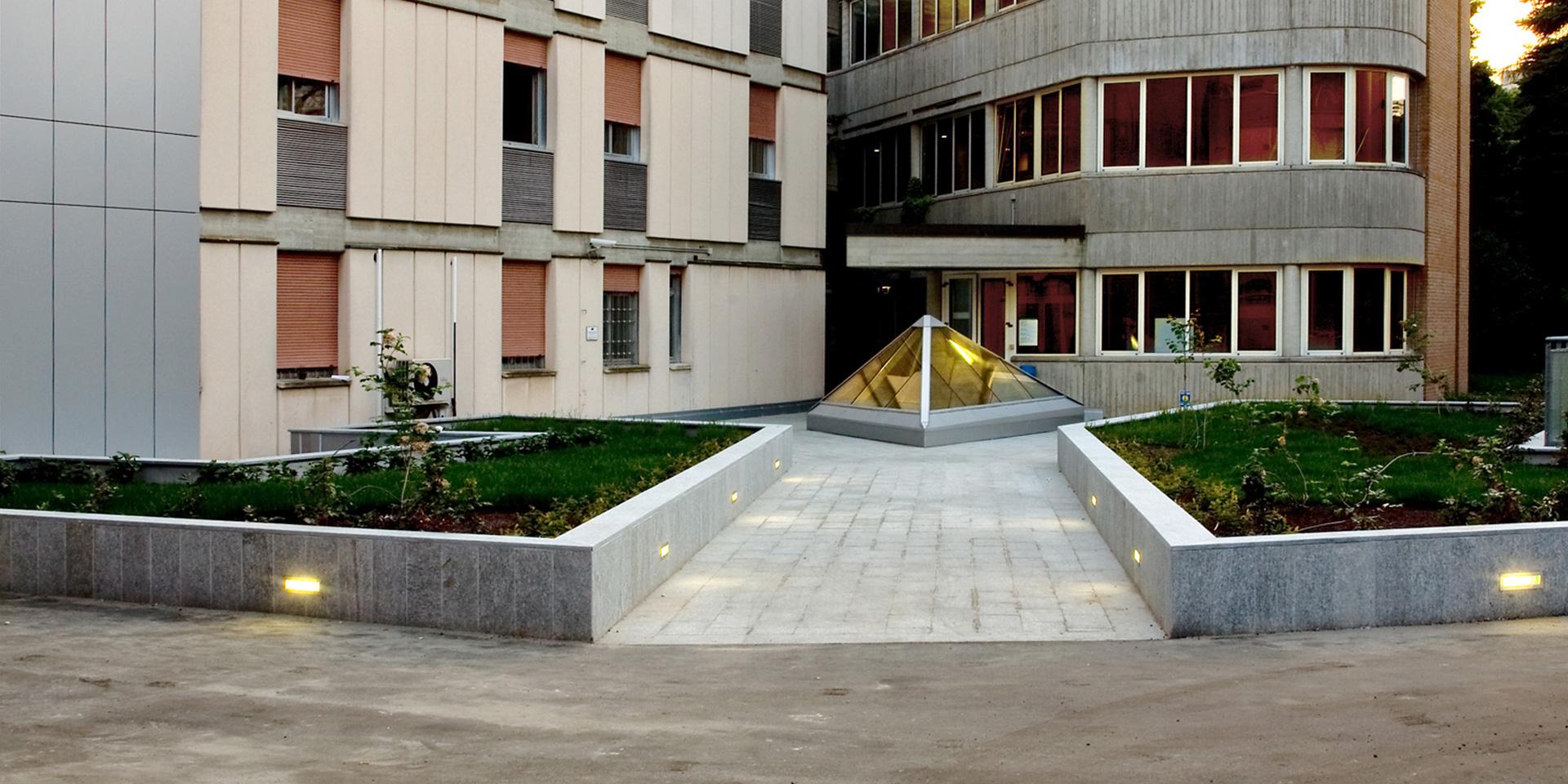 Potenziamento Casa di Cura Villa Verde a Reggio Emilia, Binini Partners, Società di architettura e ingegneria