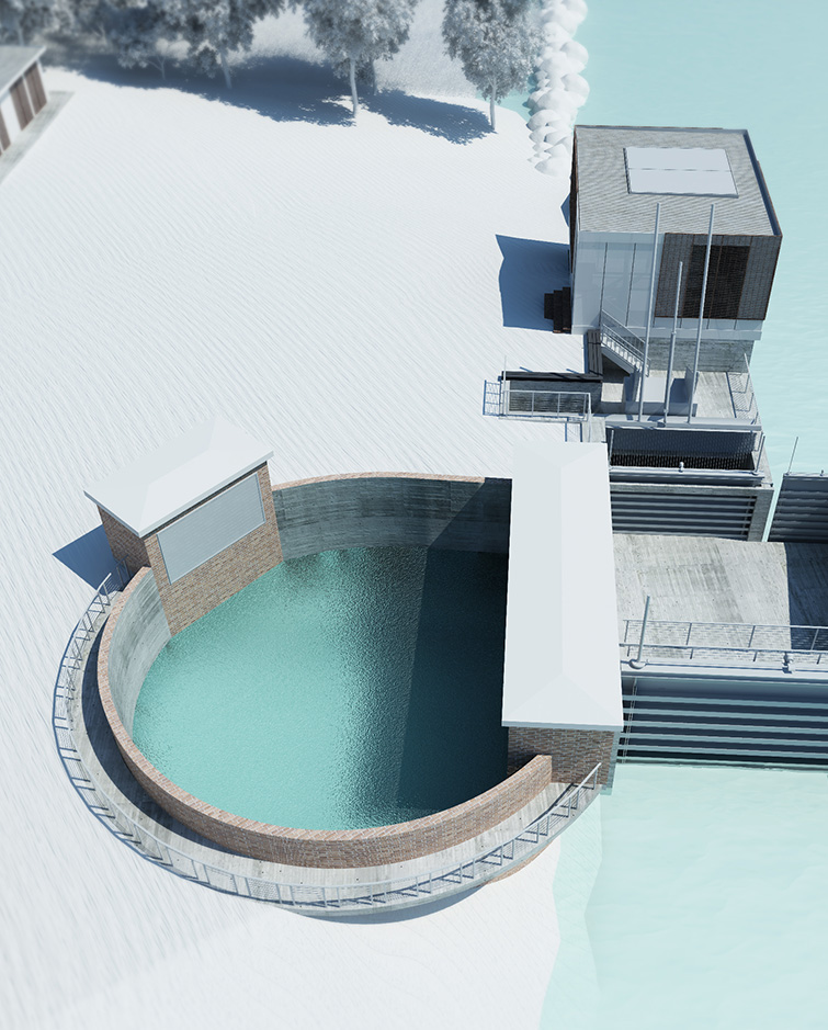Centrale idroelettrica di Ramiola, Binini Partners, Società di architettura e ingegneria
