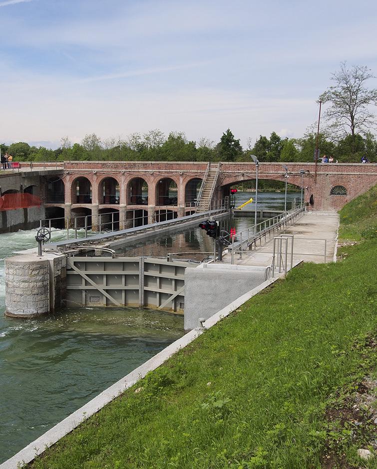 Conca di navigazione Canale Villoresi, Binini Partners, Società di architettura e ingegneria