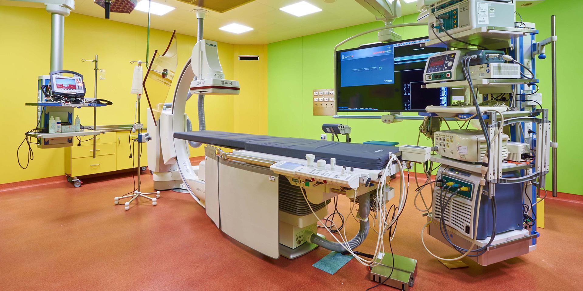 Elettrofisiologia ed Emodinamica IRCCS Policlinico San Donato, Binini Partners, Società di architettura e ingegneria