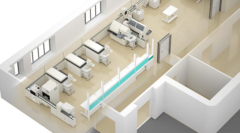 Laboratori ASL Roma G, Binini Partners, Società di architettura e ingegneria