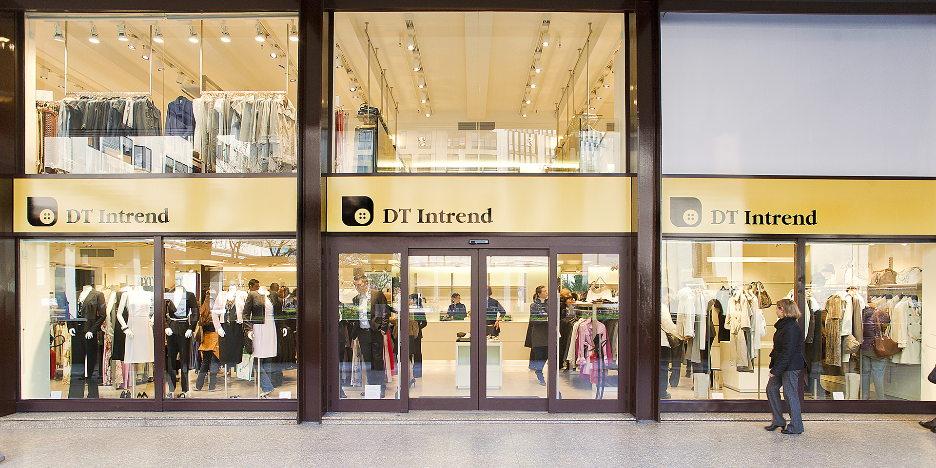 "DT Intrend"" Outlet in Milan - Binini Partners, Engineering ..."