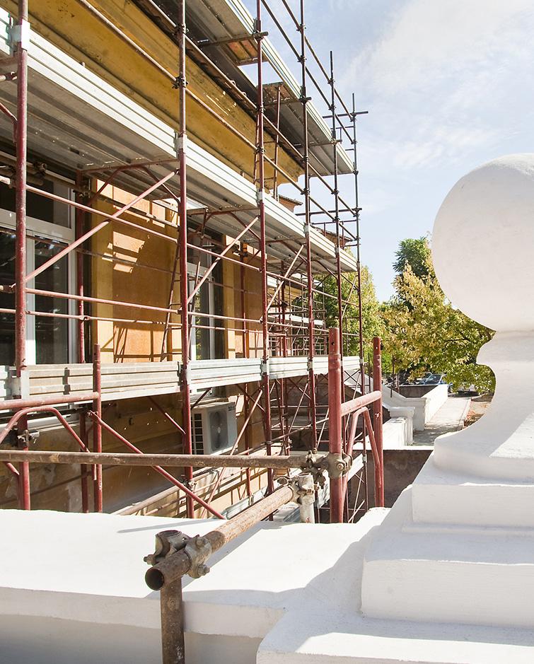 Restauro Padiglione Busi Ospedale San Camillo Roma, Binini Partners, Società di architettura e ingegneria