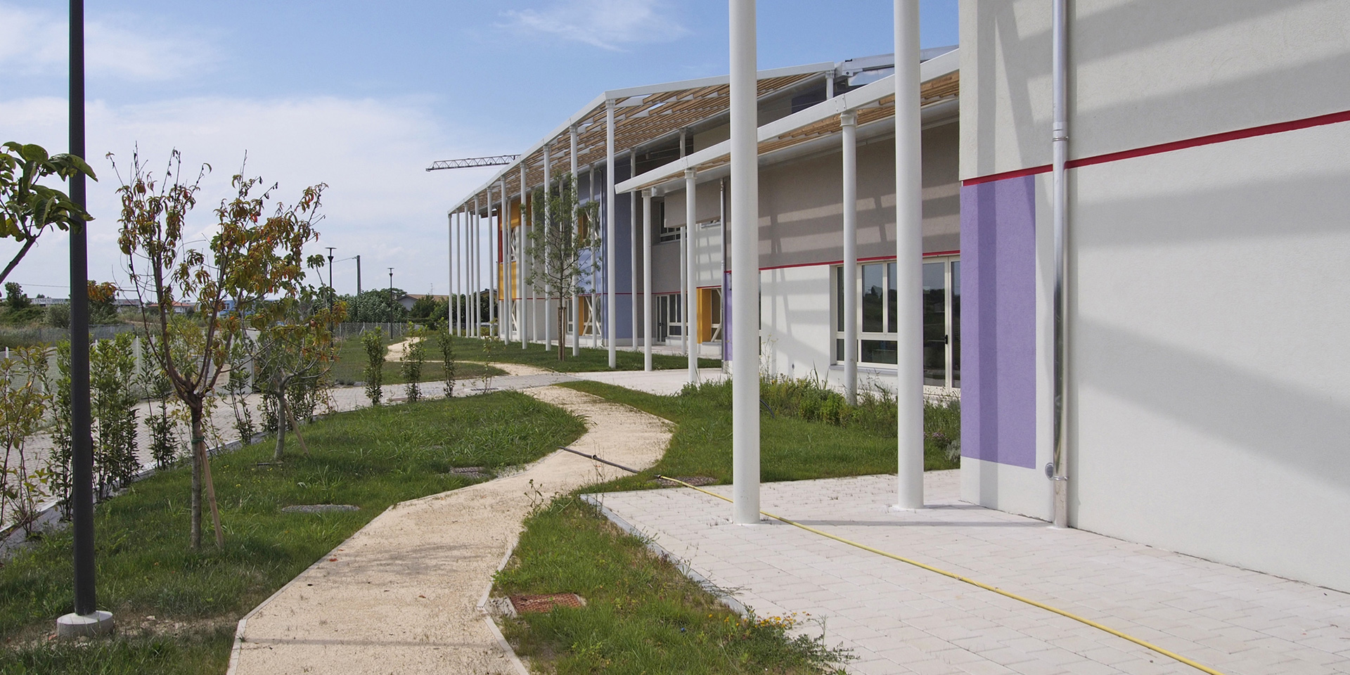 Polo scolastico di Villamarina a Cesenatico, Binini Partners, Società di architettura e ingegneria