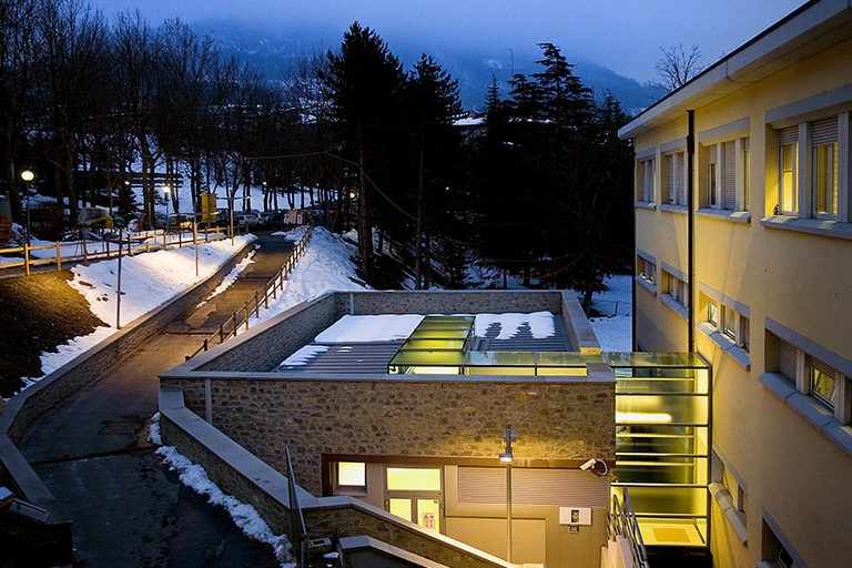 Diagnostica RM Ospedale Sant'Anna, Binini Partners, Società di architettura e ingegneria