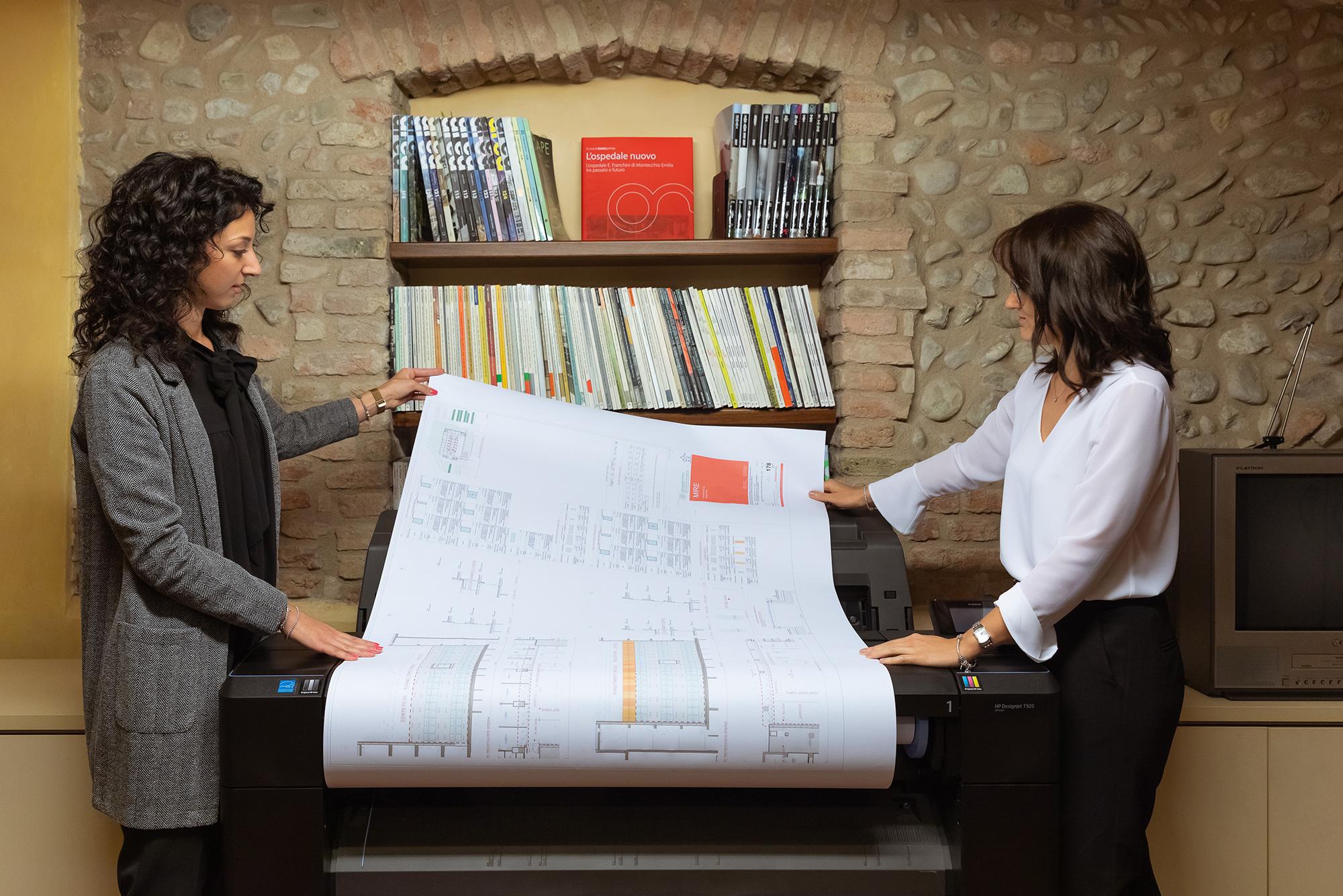 Architetto Elena Terenziani, Ingegnere Ed Architetto Lucia Foroni, Binini Partners , Società di architettura e ingegneria, Reggio Emilia, Italia