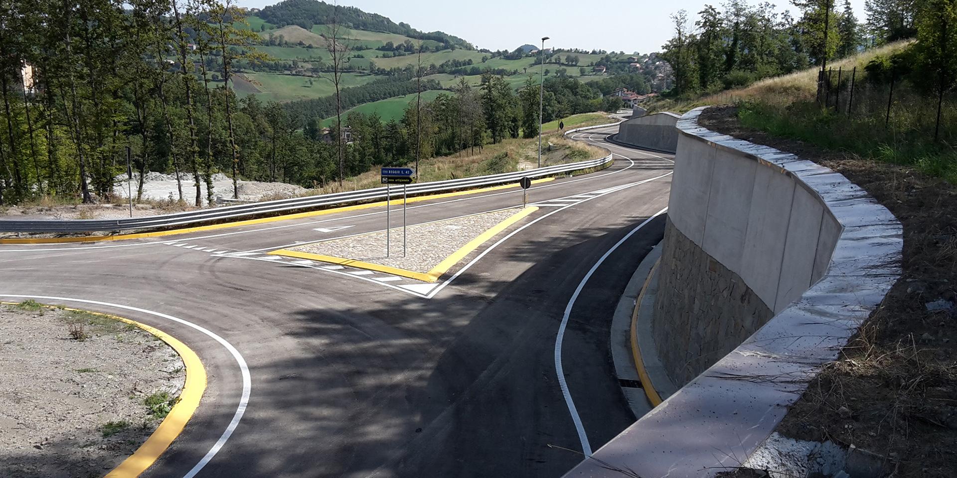 Variante S.S. 63 a Castelnovo Monti, Binini Partners, Società di architettura e ingegneria