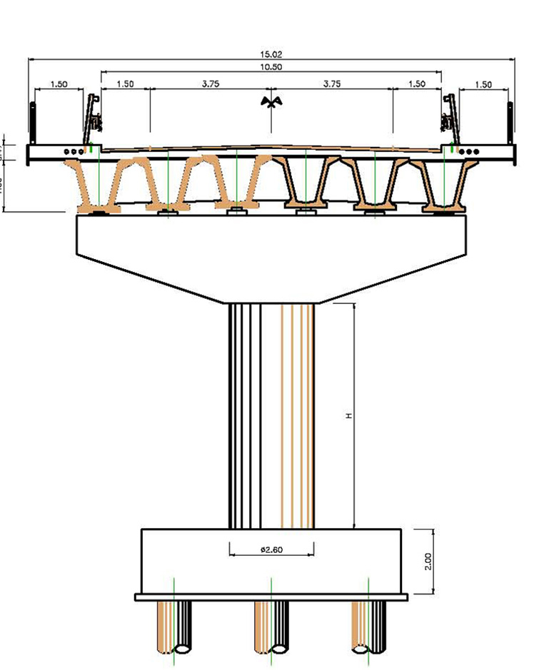 Progetto Asse di Pedemontana a Parma, Binini Partners, Società di architettura e ingegneria