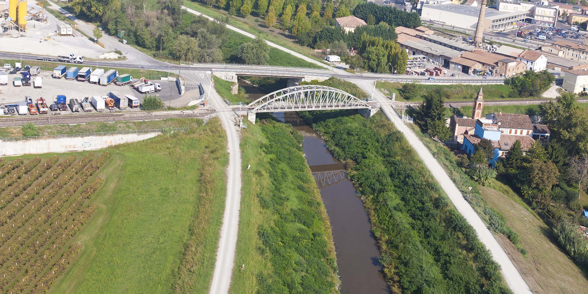 Adeguamento e rialzo ponti del Baccanello a Guastalla, Binini Partners, Società di architettura e ingegneria