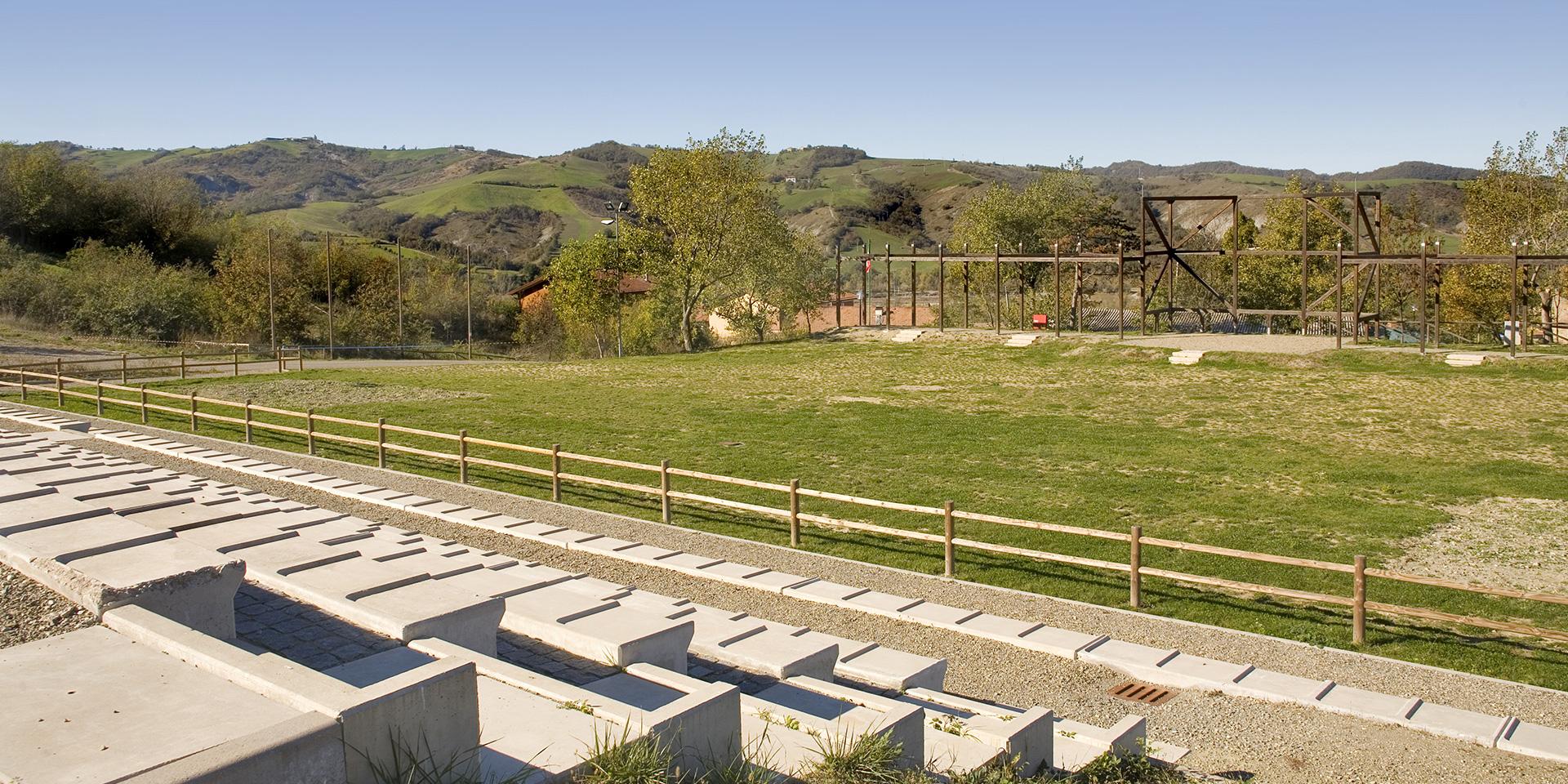 Il Bosco dell'Impero a Canossa, Binini Partners, Società di architettura e ingegneria
