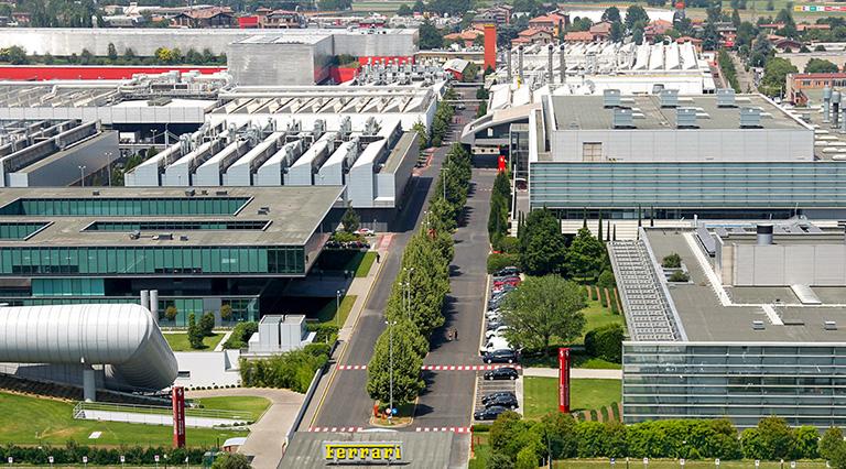Stabilimento Ferrari a Maranello, Binini Partners, Società di architettura e ingegneria