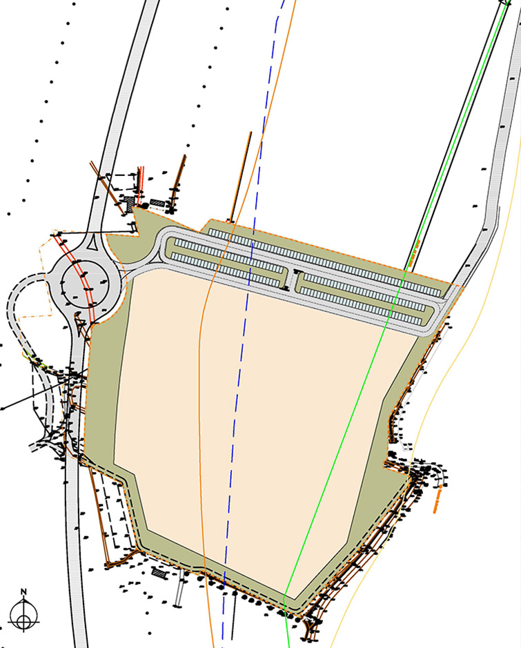 Progetto per il nuovo insediamento produttivo Ferrarini SPA a Canossa, in Val d'Enza, Binini Partners, Società di architettura e ingegneria