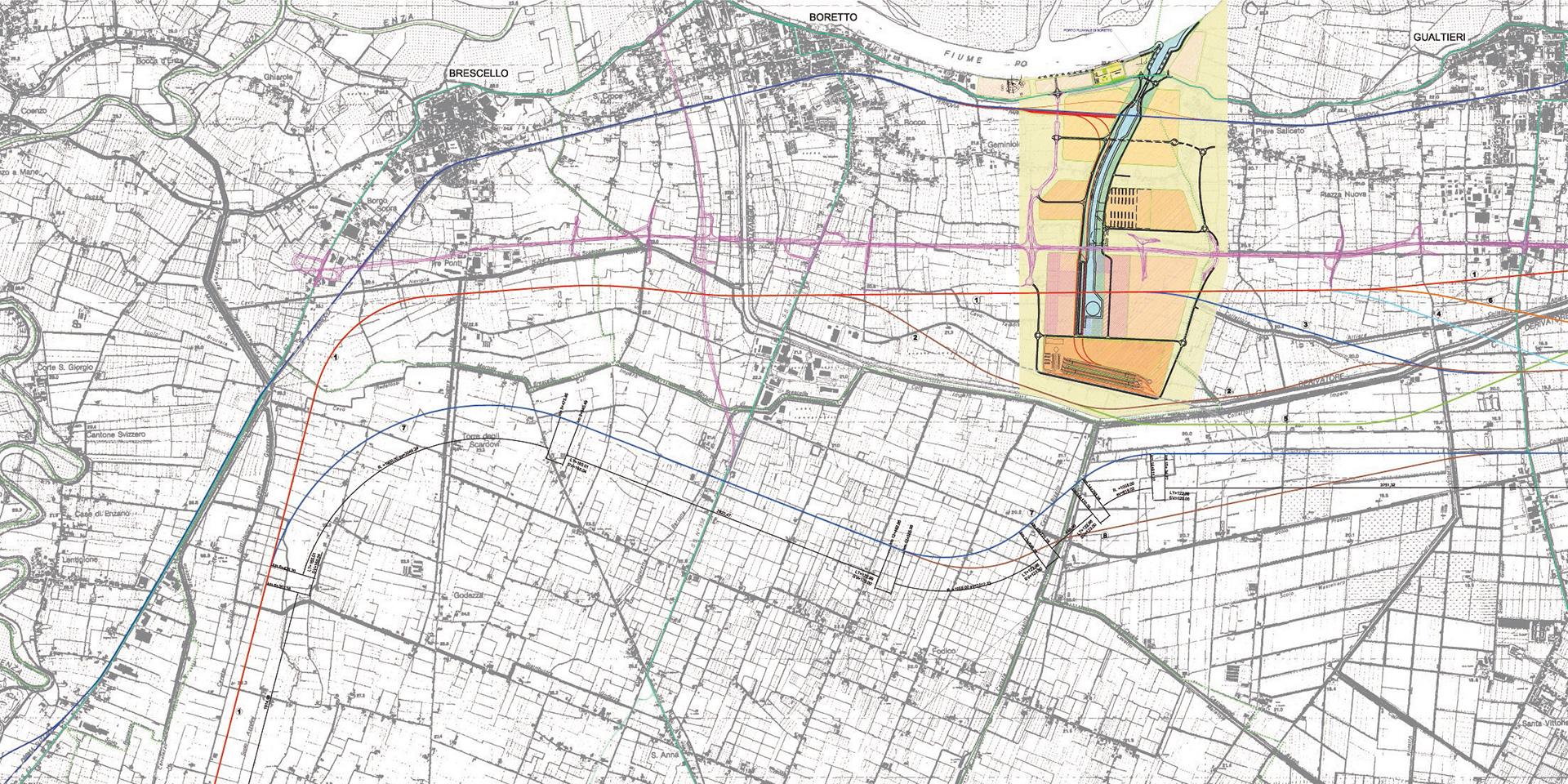 Progetto di potenziamento ferrovia Parma - Suzzara, Binini Partners, Società di architettura e ingegneria
