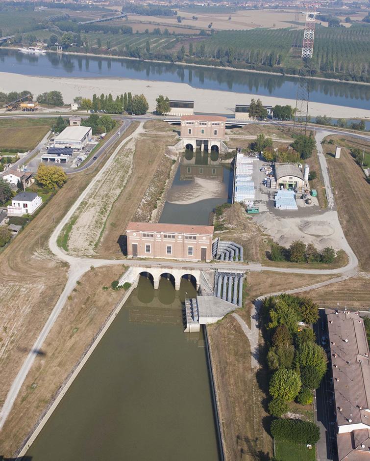 Impianto idrovoro sul Po a Boretto, Binini Partners, Società di architettura e ingegneria