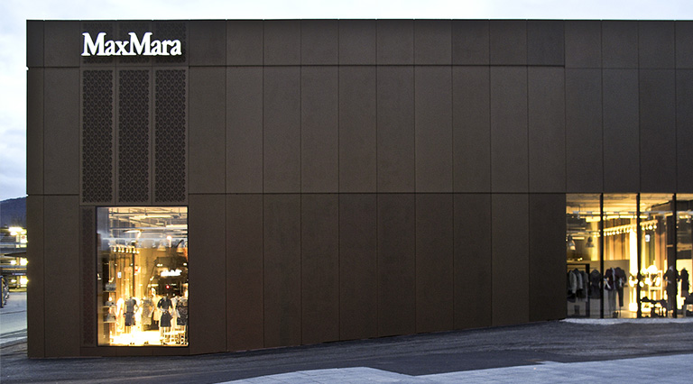 MAX MARA a Metzingen, Binini Partners, Società di architettura e ingegneria