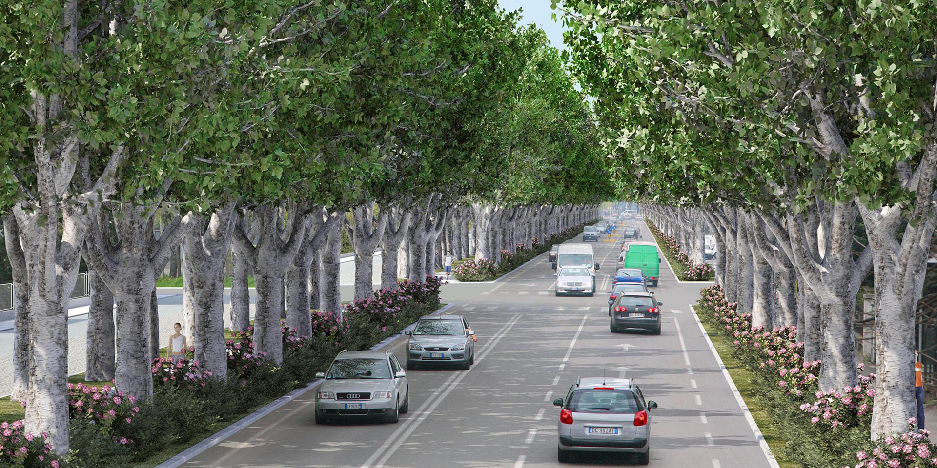 Piano del Verde del comune di Reggio Emilia, Binini Partners, Società di architettura e ingegneria
