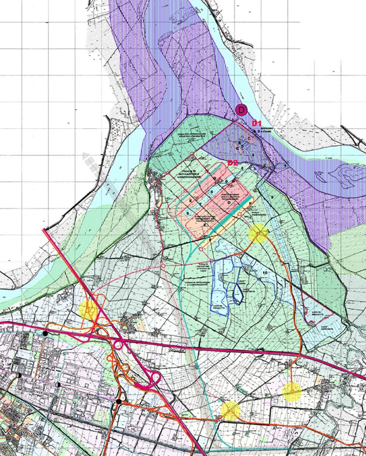 Porto sul Po a Piacenza, Binini Partners, Società di architettura e ingegneria