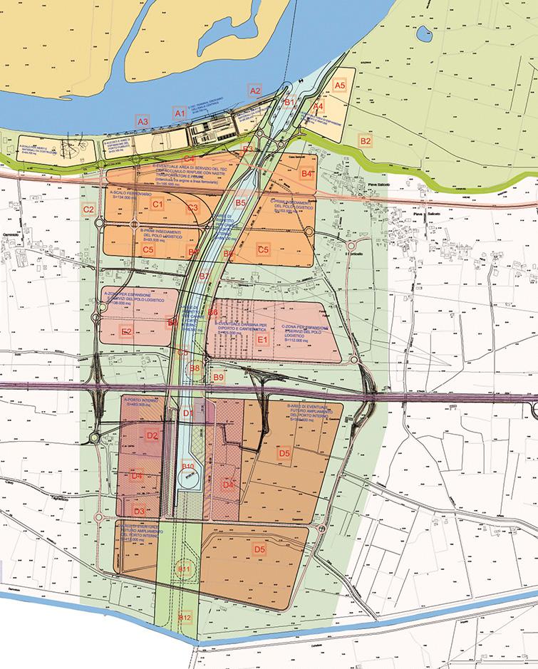 PEC - Porto sul Po dell'Emilia centrale, Binini Partners, Società di architettura e ingegneria