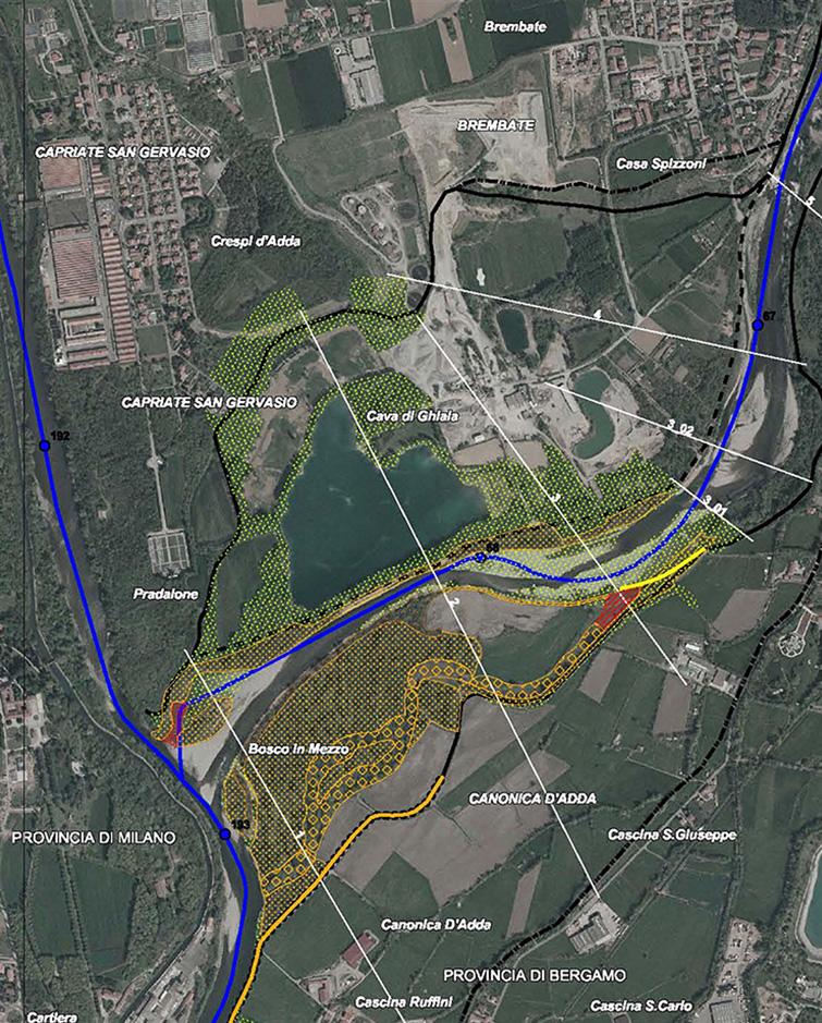 Studio di bacino dei fiumi Adda, Brembo e Serio, Binini Partners, Società di architettura e ingegneria