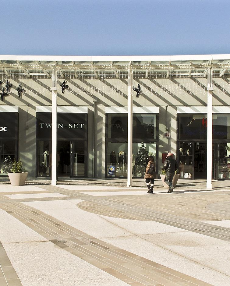 Outlet Twin-set a Soratte - Roma, Binini Partners, Società di architettura e ingegneria