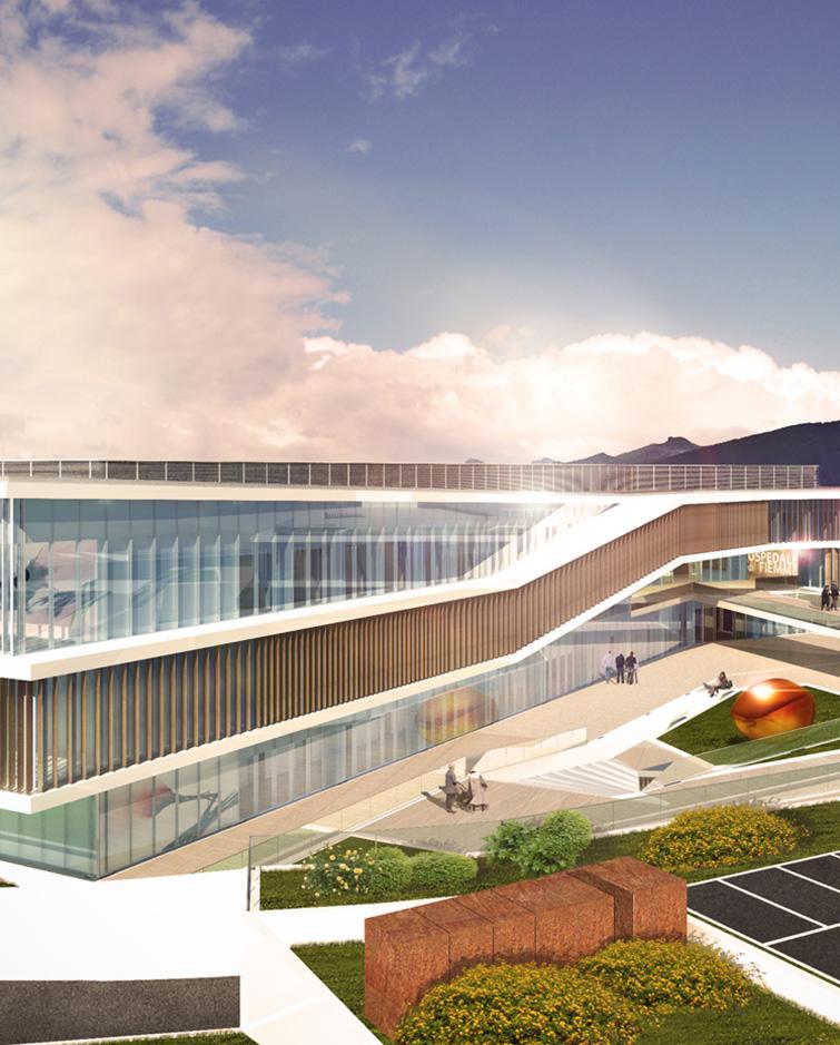 Ospedale a Cavalese, Binini Partners, Società di architettura e ingegneria