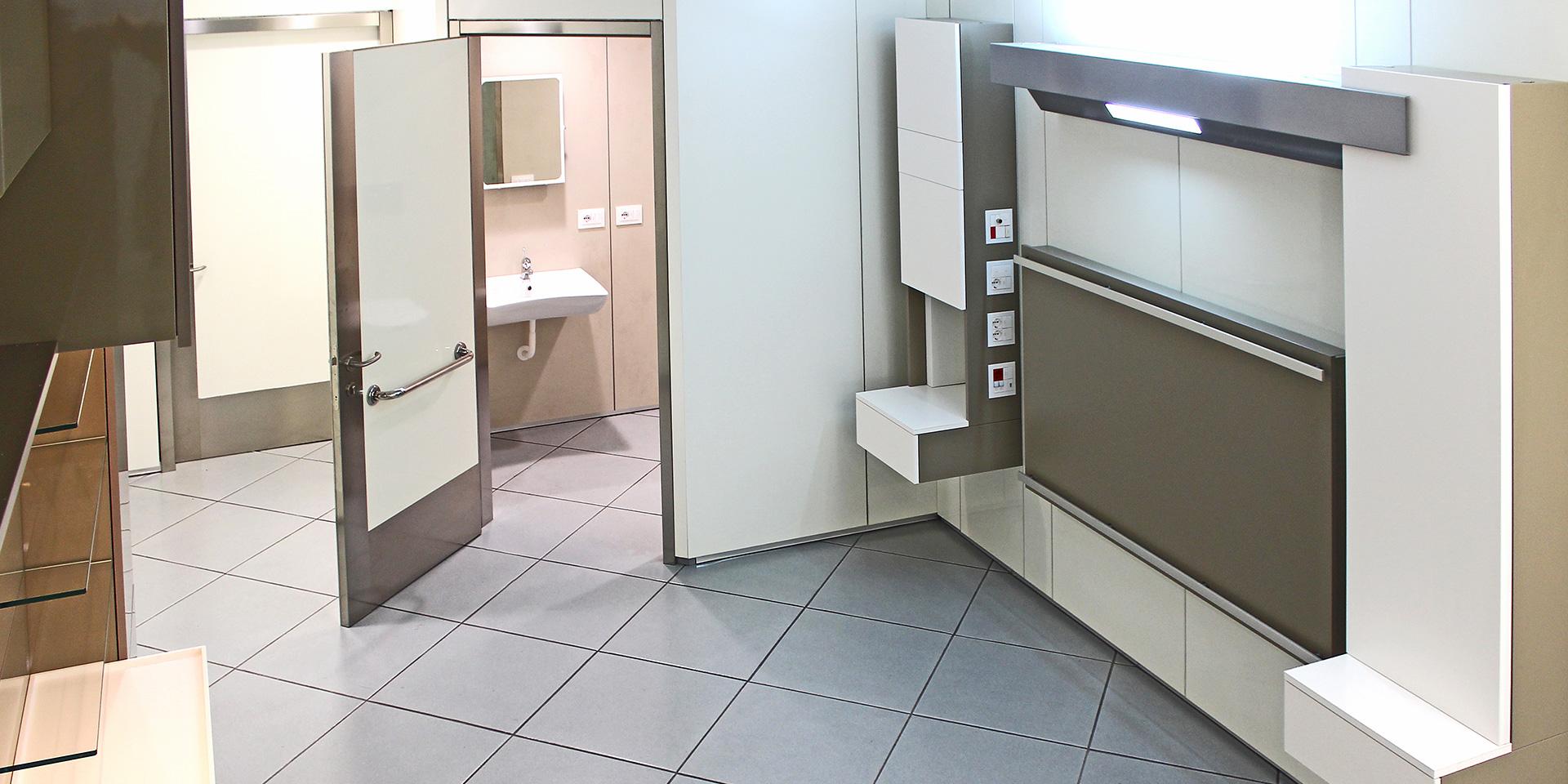 Pareti ospedaliere prefabbricate, Binini Partners, Società di architettura e ingegneria