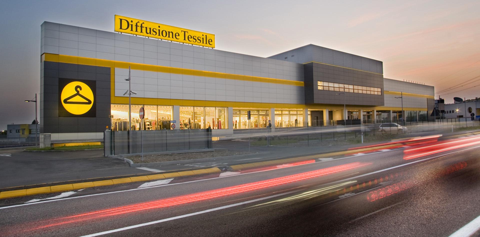 Outlet Diffusione Tessile a Cernusco sul Naviglio (MI), Binini Partners, Società di architettura e ingegneria