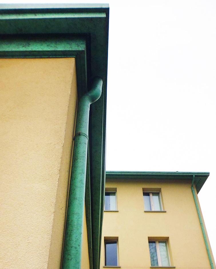Edificio residenziale con attività commerciali a Pontenovo, Binini Partners, Società di architettura e ingegneria