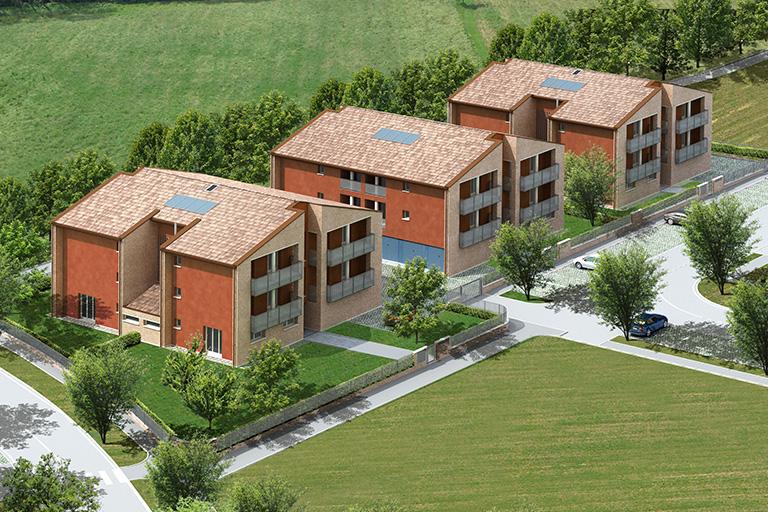Palazzine a Monticelli Terme, Binini Partners, Società di architettura e ingegneria