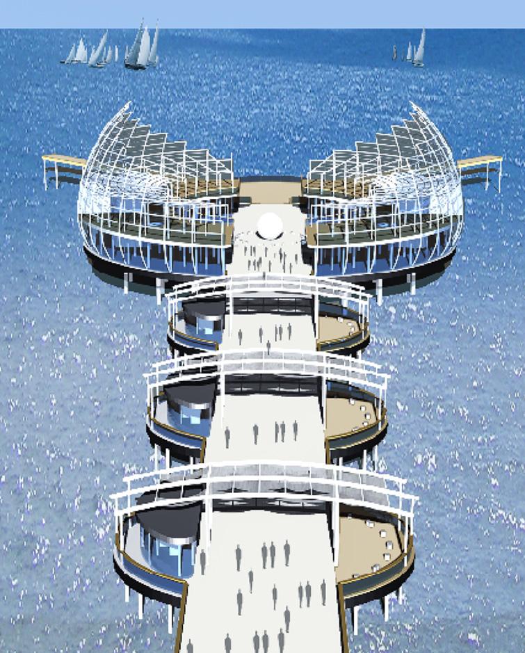 Pontile panoramico a Riccione, Binini Partners, Società di architettura e ingegneria