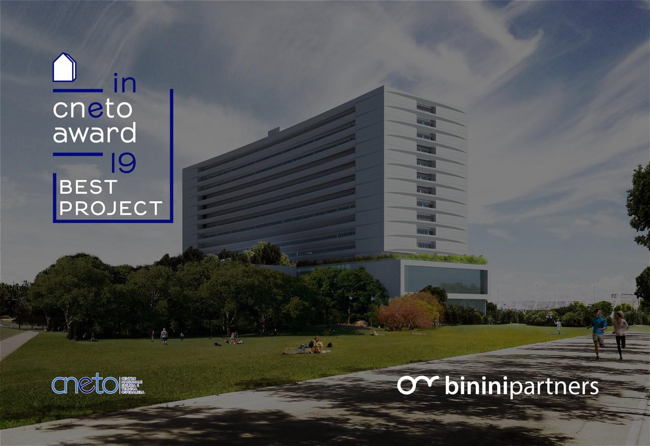 CNETO Award 2019, Binini Partners, Società di architettura e ingegneria