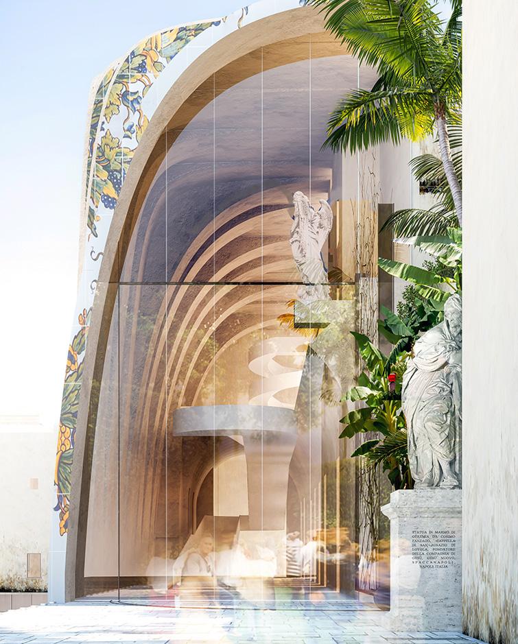 Napoli Incurabili, Binini Partners, Società di architettura e ingegneria