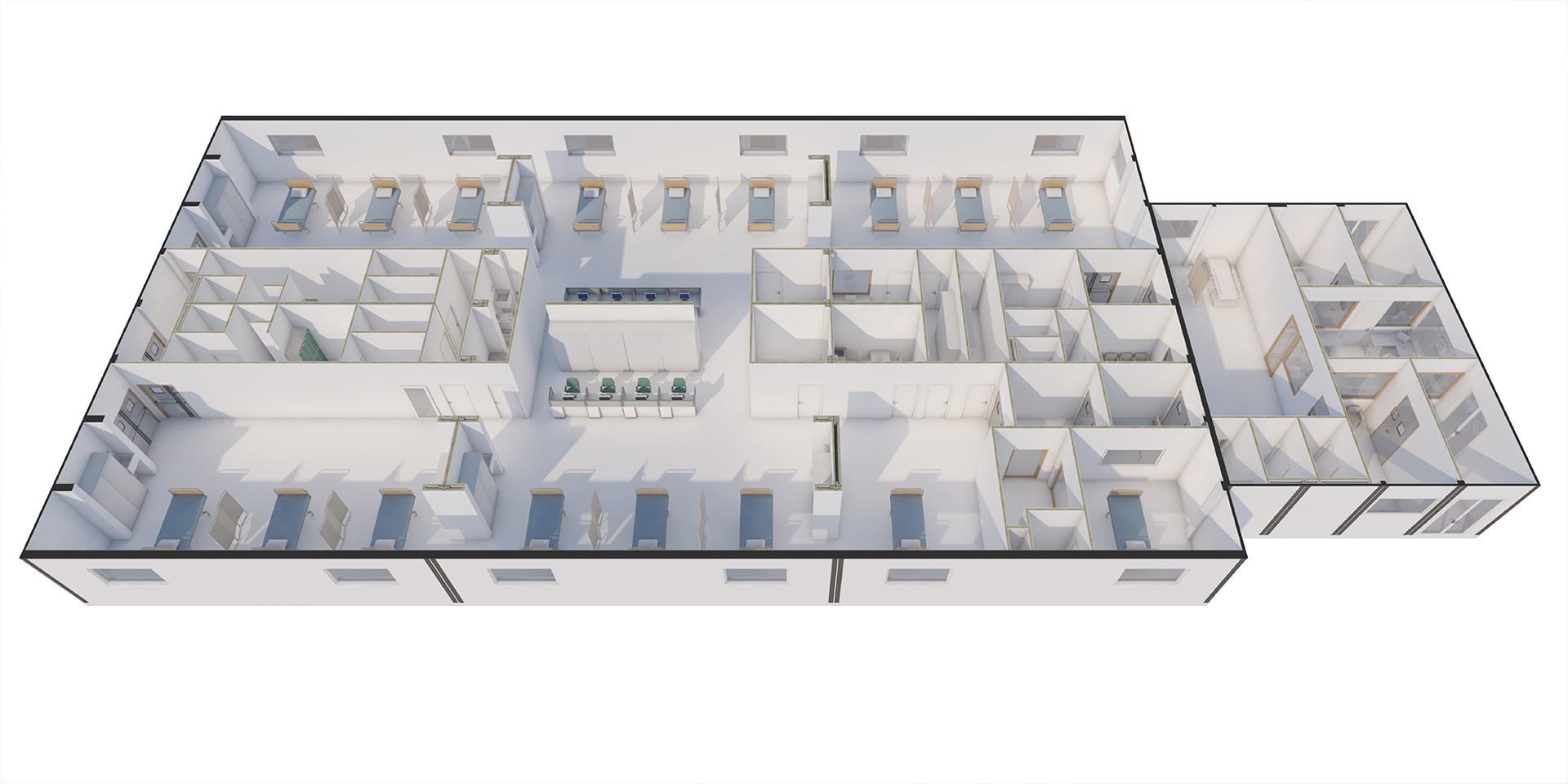Speed Hospital, Binini Partners, Società di architettura e ingegneria